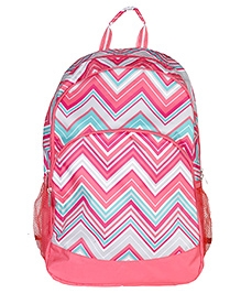 All Of Color Sunset Chevron Backpack - Dimensions - 12.5 X 8 X 20.25 Inches