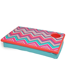 All Of Color Sunset Chevron Lapdesk