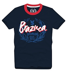 Brazuca T Shirts Half Sleeves NAVY 10/11Y(80CM)