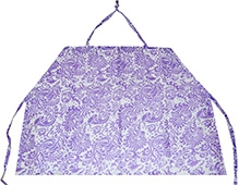 Ireeya's Nursing Cover Purple Garden
