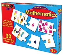 Learning Journey Match & Learn Mathematics - Puzzle