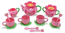 Melissa and Doug Bella Butterfly Tea Set - Pink