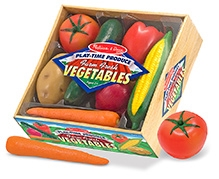 Melissa & Doug Wooden Vegetables