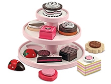 Melissa & Doug Wooden Sweet Treat Tower
