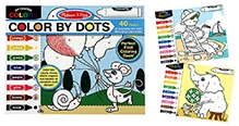 Melissa And Doug Color By Dots Coloring Pad