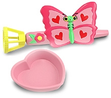 Melissa And Doug Bella Butterfly Bubble Blower 10 x 9 x 3 Inches, Cute bubble blower for girls