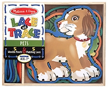 Melissa And Doug Lace And Trace Pets