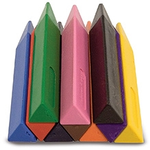 Melissa And Doug Jumbo Triangular Crayons - 10 Pieces