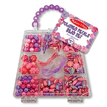Melissa And Doug Polished Petals Bead Set