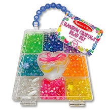 Melissa And Doug Rainbow Crystals Bead Set