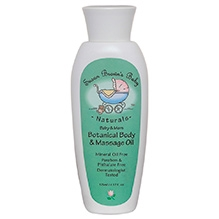 Susan Browns Baby Botanical Body And Massage Oil - 125 ml