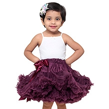 Tutu Couture Black Cherry Pettiskirt