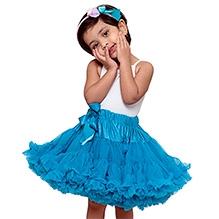 Tutu Couture Blue Raspberry Pettiskirt