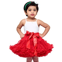 Tutu Couture Candy Apple Red Pettiskirt