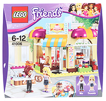 Lego Friends Downtown Bakery 6 to 12 Years, Fun and interesting building set for your child