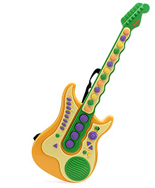 Mitashi Sky Kidz Rock Star Guitar Multicolor 58 x 21.5 x 5.7 cm, Cute, safe and wonderful guitar for kids