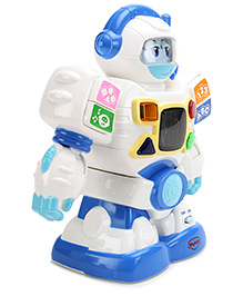 Mitashi Skykidz Edubot Senior Robot - Blue and White