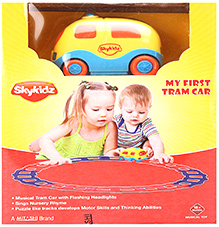 Mitashi Skykidz My First Tram Car - Multi Colour - 18 Months+