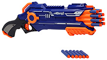 Mitashi Bang Eagle Gun Blue and Orange - Length 48 cm