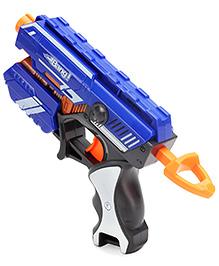 Mitashi Bang Woodpecker Gun With Darts - Blue - 25 X 16 X 4.5 Cm