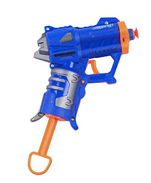 Mitashi Bang Scarlet Macaw Gun With Darts 11 x 13 cm, Perfect gift for kids