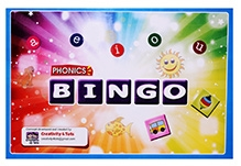 Creativity 4 Tots - Phonics Bingo Board Game