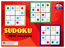 Creativity 4 Tots - Colour Sudoku Board Game
