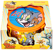 Tom And Jerry Drum Set - Orange