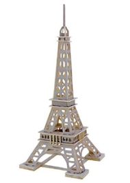 Robotime 3D Wooden Eiffel Tower Puzzle - 63 Pieces