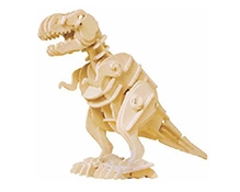 Robotime 3D Wooden Battery Operated Robotic Puzzle - TRex