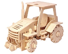 Robotime 3D Wooden Battery Operated Puzzle - Tractor