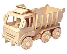 Robotime 3D Wooden Battery Operated Puzzle - Truck