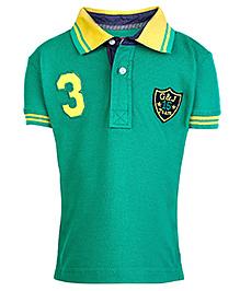 Giny & Jony Half Sleeves T-Shirt - Green