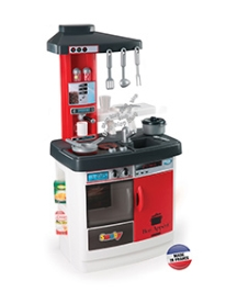Smoby Cherry Kitchen Elect - Red and White