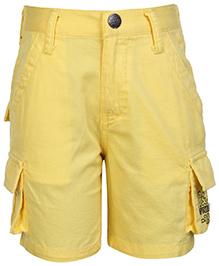 Gini & Jony Elasticated Bermuda Shorts - Yellow