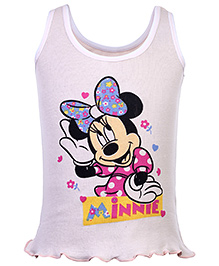 Bodycare Slip Minnie Mouse Print - Peach