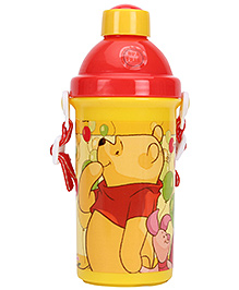 Winnie the Pooh Sipper Water Bottle - 400 ml