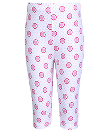 Tango Leggings with Dotted Print - Pink