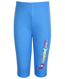 Tango Track Pant with Teddy Print - Blue