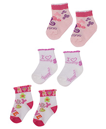 Carters Multicolor Socks - Set Of 3