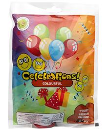 Celeberations! Rubber Play Balloon - 50 Pieces