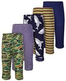 Carters Multicolor Casual Legging - Set of 5
