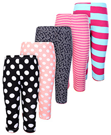 Carters Multicolor Casual Legging - Set of 5