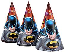 Batman Paper Hats - 8 Units