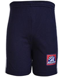 Taeko Bermuda Shorts Navy Blue