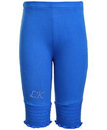 Little Kangaroos LK Print Royal Blue Leggings