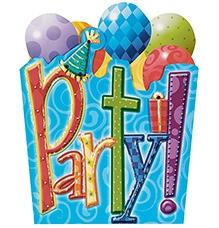 Wanna Party Birthday Party Jumbo Invitation - 8 Cards