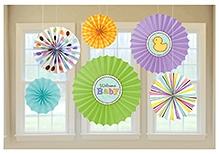 Wanna Party Tiny Bundle Paper Fan Decoration - 6 Pieces