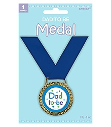 Wanna Partys Dad To Be Medallion