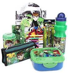 Ben 10 School Kit - Pack Of 7